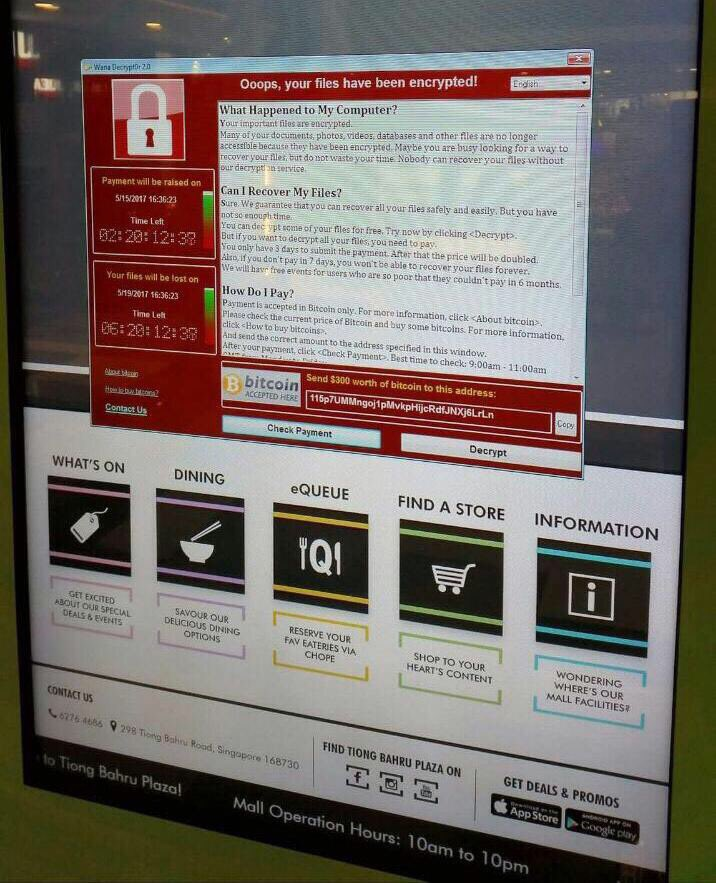 singapore-mall-wannacry