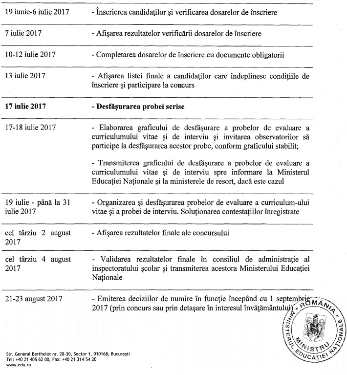 calendar concurs directori
