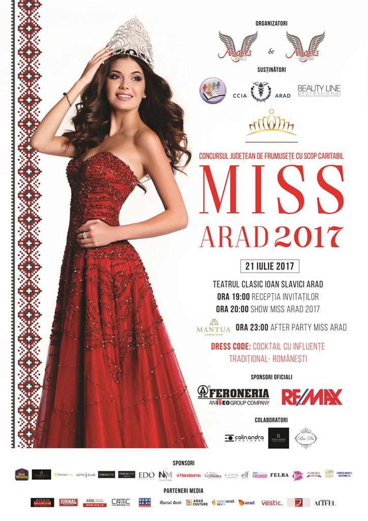 poster a3 MISS ARAD 2017