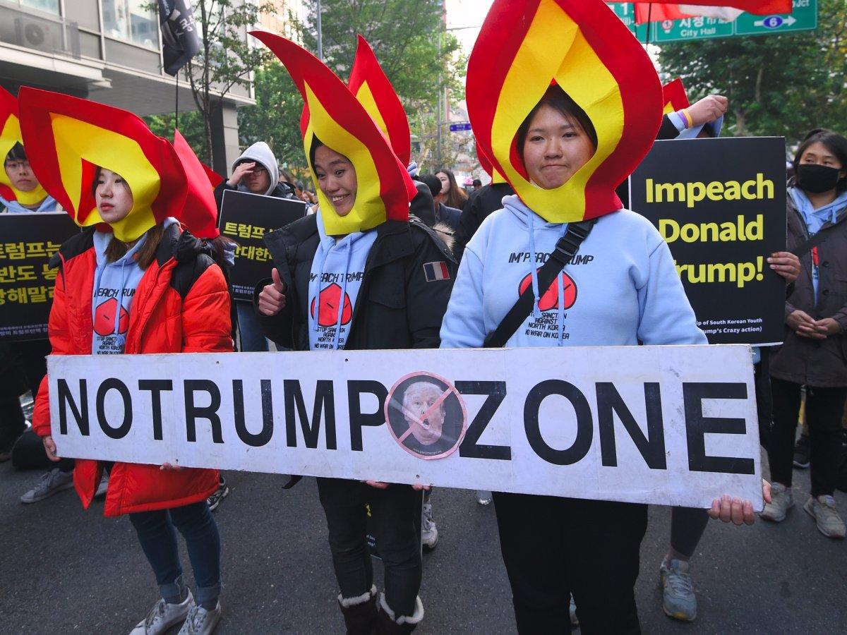 protest trump coreea de sud (1)