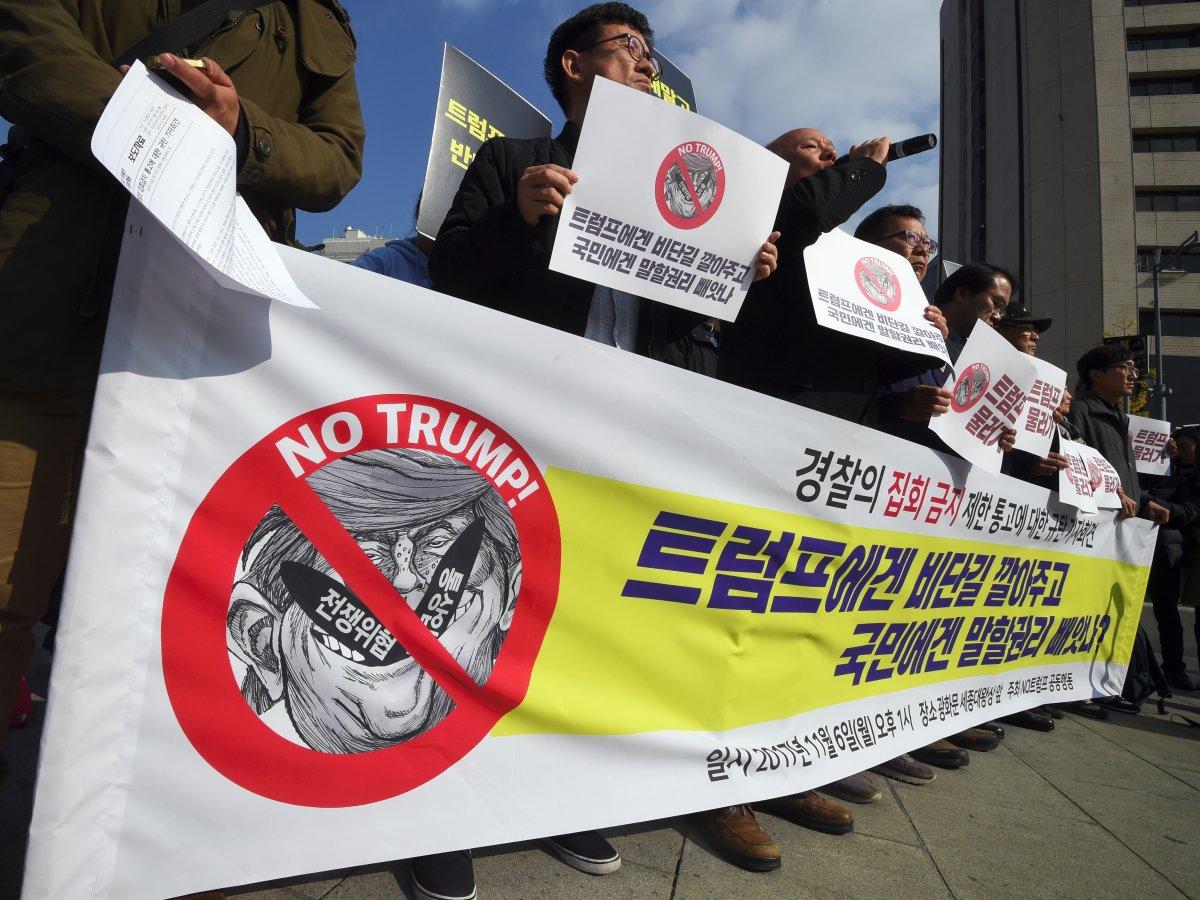 protest trump coreea de sud (5)