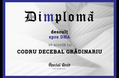 DIMPLOMA CODRU DECEBAL GRĂDINARIU