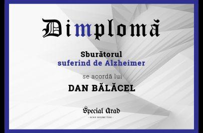 DIMPLOMA DAN BĂLĂCEL