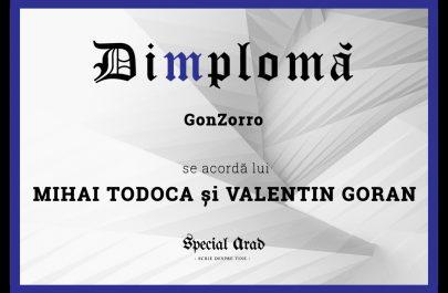 DIMPLOMA MIHAI TODOCA și VALENTIN GORAN