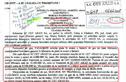 20180206 Notificare CET Arad