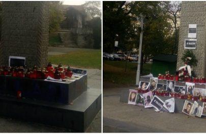 candele colectiv crucea martirilor arad
