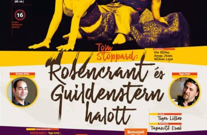 Afis Rosencrantz si Guildenstern sunt morti