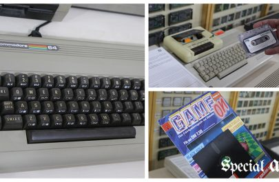 Commodore 64 si revista de jocuri - Muzeu Retro IT Arad