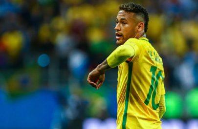 Neymar+JR+Brazil+v+Equador+2018+FIFA+World