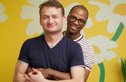 Cuplul gay Coman-Hamilton