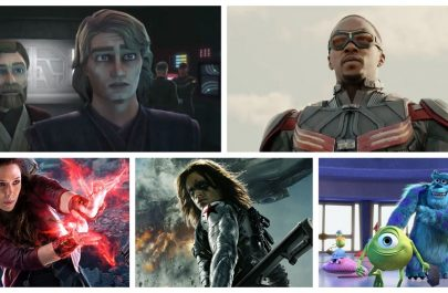 Disney+ Clone Wars Falcon Scarlet Witch Winter Soldier Monsters Inc