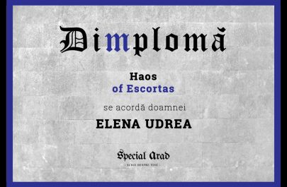 Dimploma Haos of Escortas