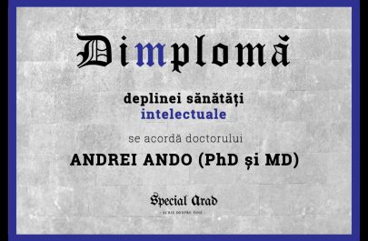 DIMPLOMA ANDREI ANDO PhD și MD