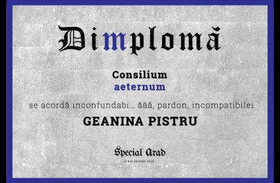 DIMPLOMA CONSILIUL AETERNUM GEANINA PISTRU