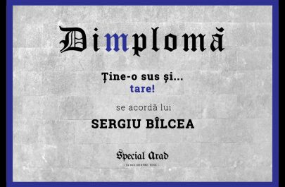 DIMPLOMA SERGIU BÎLCEA