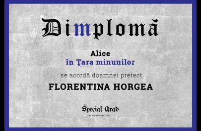 Dimploma Alice în Ţara minunilor