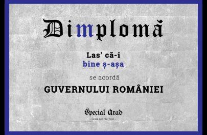 Dimploma Las că-i bine ș-așa