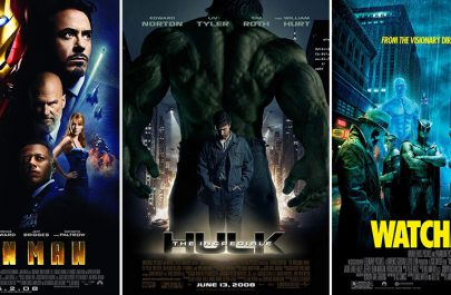 Iron Man - The Incredible Hulk - Watchmen