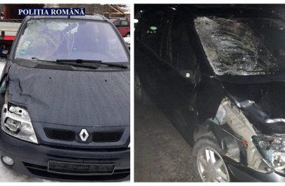 Mașina șoferului care a părăsit locul accidentului mortal de la Cuvin a fost prins