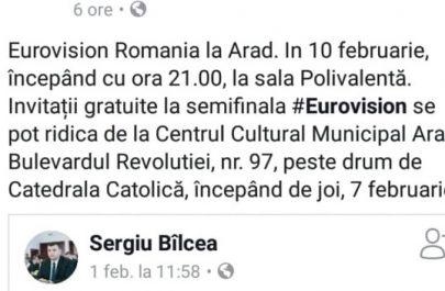 postare fb ccja eurovision
