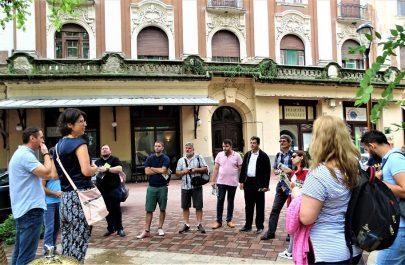 Ghizii de turism din Arad și Timișoara, în infotrip la Makó 03