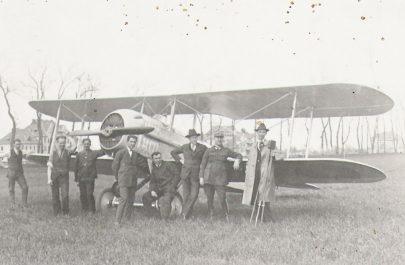 13. Personalul aeroportului din Gai (1934)