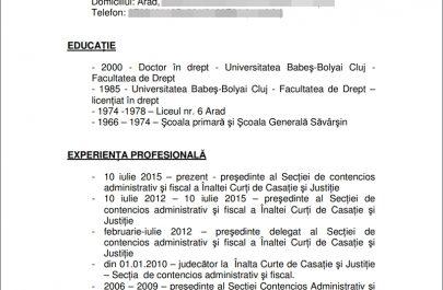 CV - Ionel Barba
