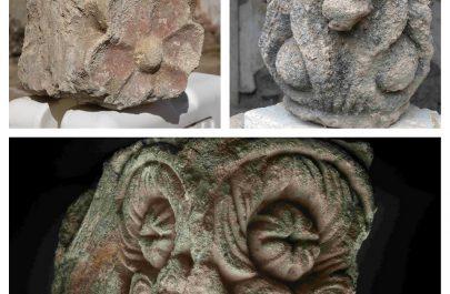 fragmente ornamentale - cetatea ineu