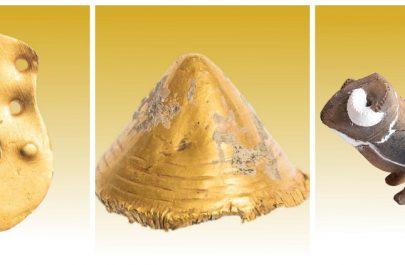podoabe din aur și un pandantiv din aur