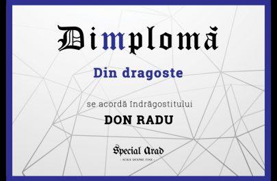 DIMPLOMA DON RADU