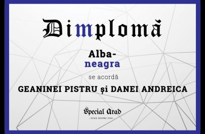 DIMPLOMA GEANINEI PISTRU și DANEI ANDREICA