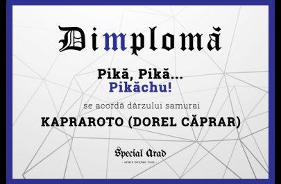 DIMPLOMA KAPRAROTO