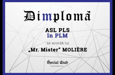 DIMPLOMA MOLIÈRE
