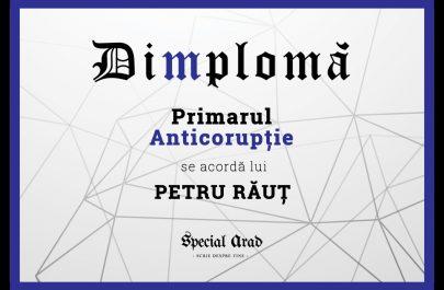 DIMPLOMA Primarul Anticorupție