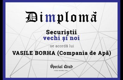 DIMPLOMA VASILE BORHA