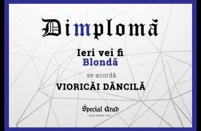 DIMPLOMA VIORICĂI DĂNCILĂ