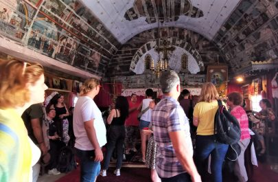 10 Interior Biserica de lemn din Margina