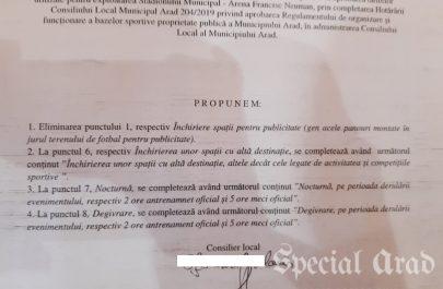 amendamente tarife stadion uta