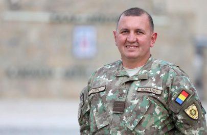 """A șasea misiune de război pentru militarul arădean Laurențiu Cuci. Plutonierul major este în Afganistan, alături de Batalionul 191 """"Golden Lions"""" din Arad"""