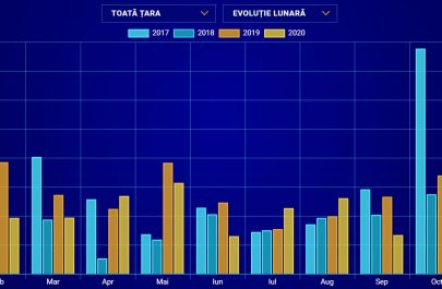 tigari capturate la nivel nationa 2020 statistica tabel