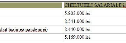 cheltuieli cu salariile la filarmonica arad pe ani