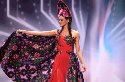 Bianca Tirsin - Miss Universe 2021 - rochie Arina Varga