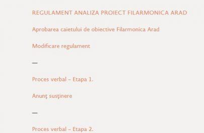 informatii publice - Filarmonica