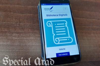 biblioteca digitala aplicatie arad