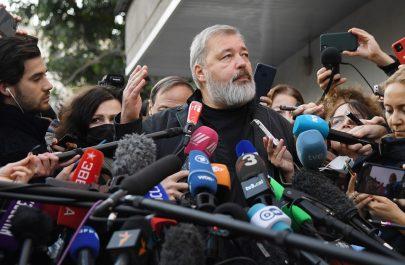 2021 Nobel Peace Prize recipient, Dmitry Muratov